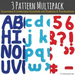 Hi Jenny Brown 3 Pattern Crochet Multipack