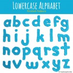 Hi Jenny Brown Lowercase Alphabet Crochet Pattern