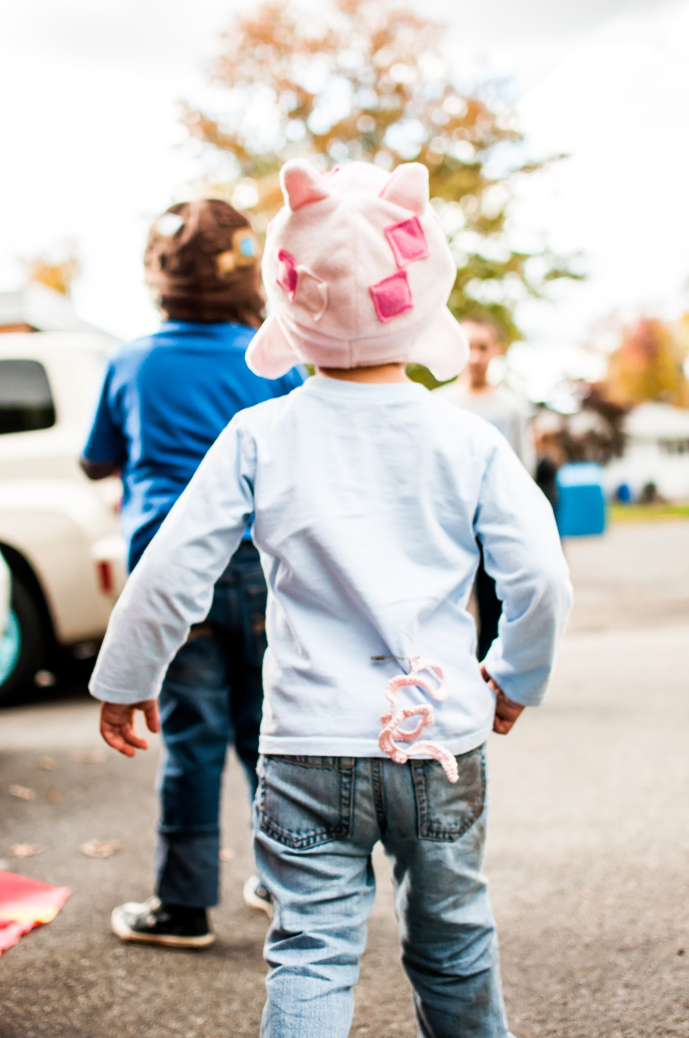 Trunk or Treat, Minecraft Car - HiJennyBrown PigTail