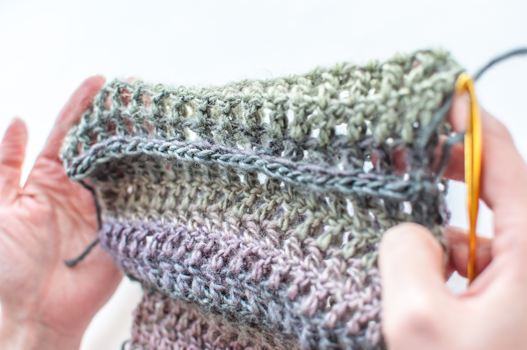 Hi, Jenny Brown - final sl st join for Quick Crochet Cowl