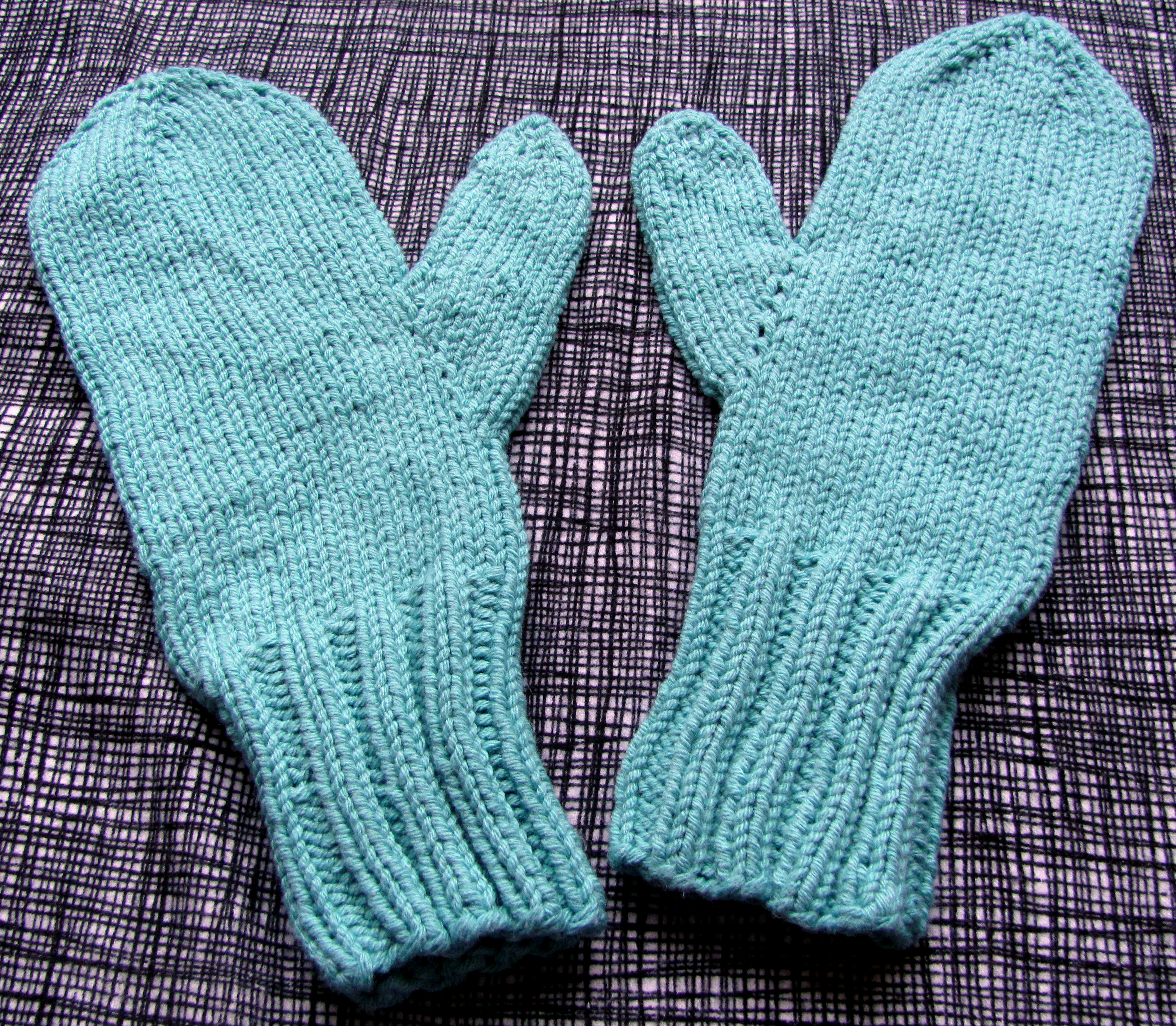 Hi, Jenny Brown - knit mittens for donation