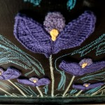 Crochet Crocus for NaomiRAG by Hi Jenny Brown