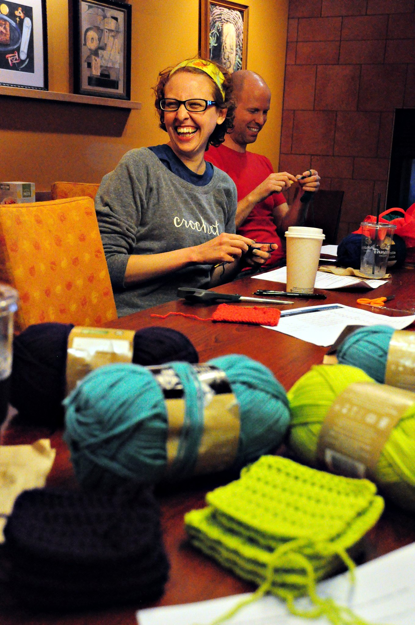 Knitting Group Egos - Hi, Jenny Brown