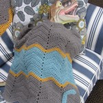 Personalized Ripple Blanket - Hi, Jenny Brown