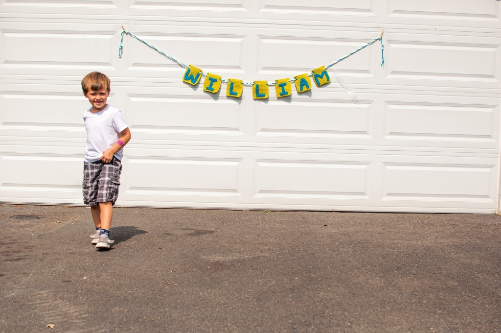 Big Boy Crochet Banner - HiJennyBrown.com