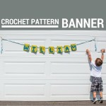 Banner Pattern - Hi, Jenny Brown